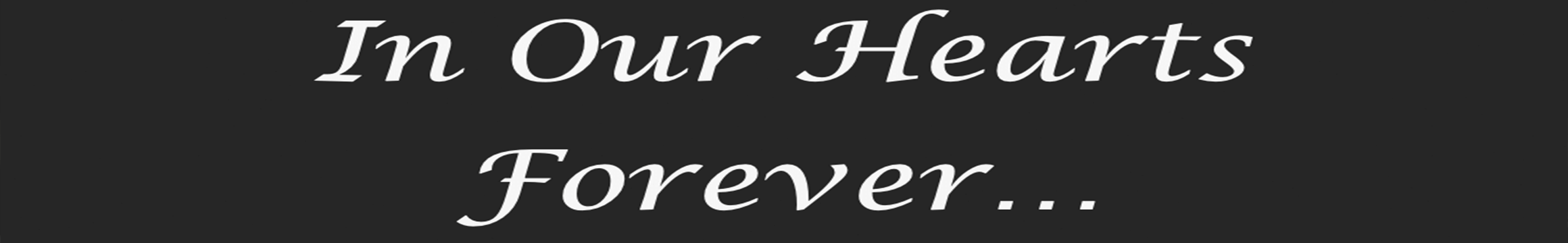 In Our Hearts Custom Banner