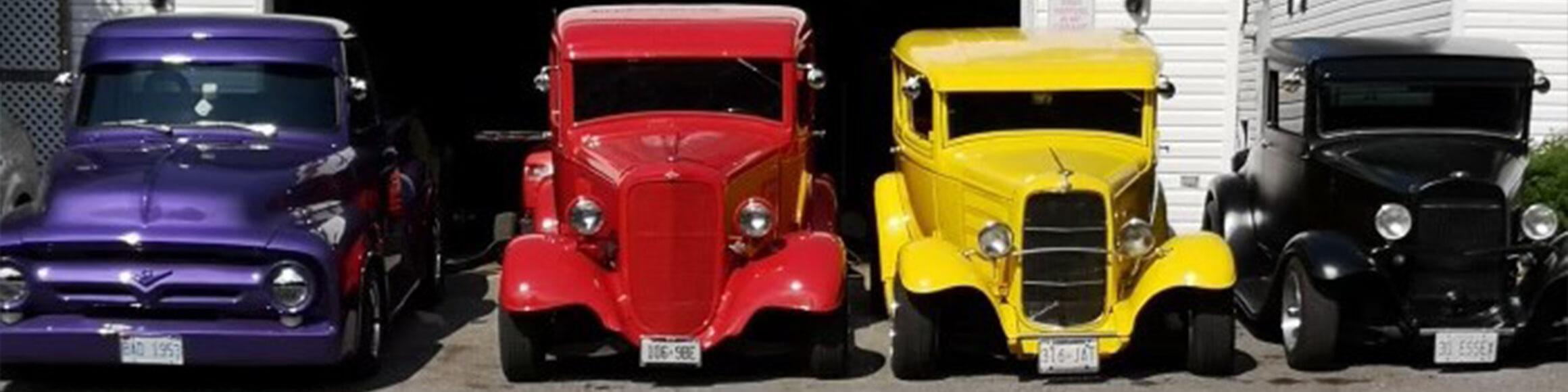 Classic Car Banner Custom