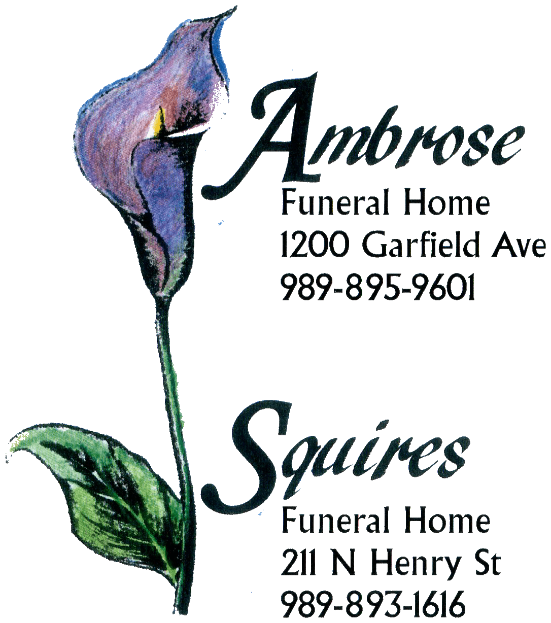 Send flowers ambrose and squires funeral homes bay city mi push button for menu push button for menu home izmirmasajfo