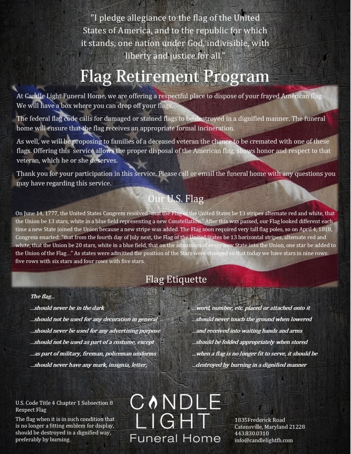 Flag Retirment Program