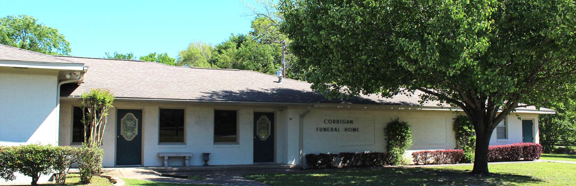 funeral home in Corrigan, TX