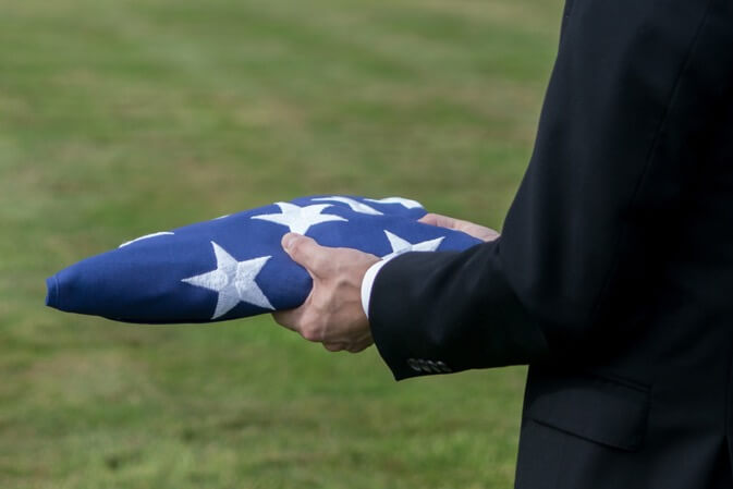 Veteran Flag Tacoma WA Funeral Home And Cremations