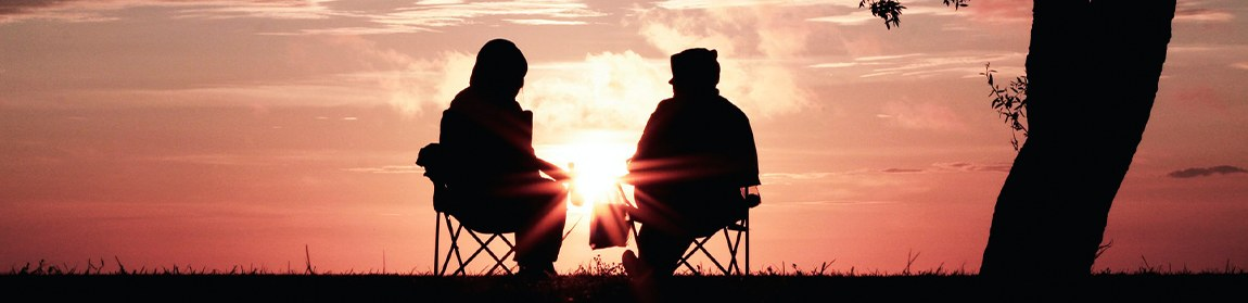 Friends looking at sunset - What You'll Actually Bequeath Your Loved Ones