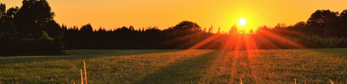 sunset over field - 6 Mistakes to Avoid When Preplanning