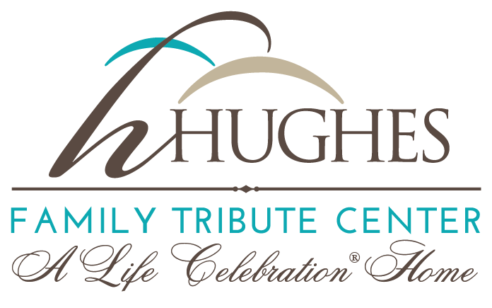 Hughes Family Tribute Center Logo