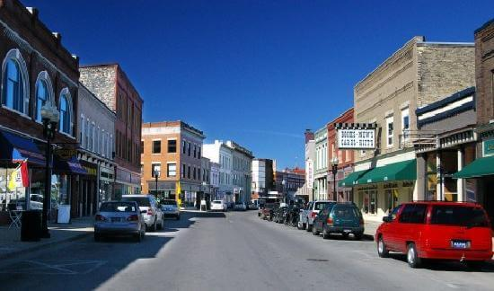 Downtown Manistee MI