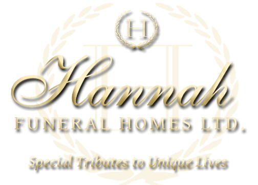 All Obituaries | Hannah Funeral Homes Ltd  - Napanee