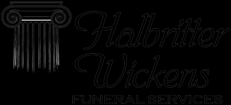 Halbritter Wickens Funeral Logo
