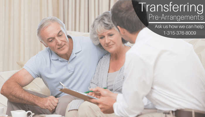 Transfering Pre-Arrangements
