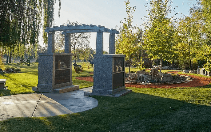 Leavitt's Mortuary Cremation Garden In Odgen