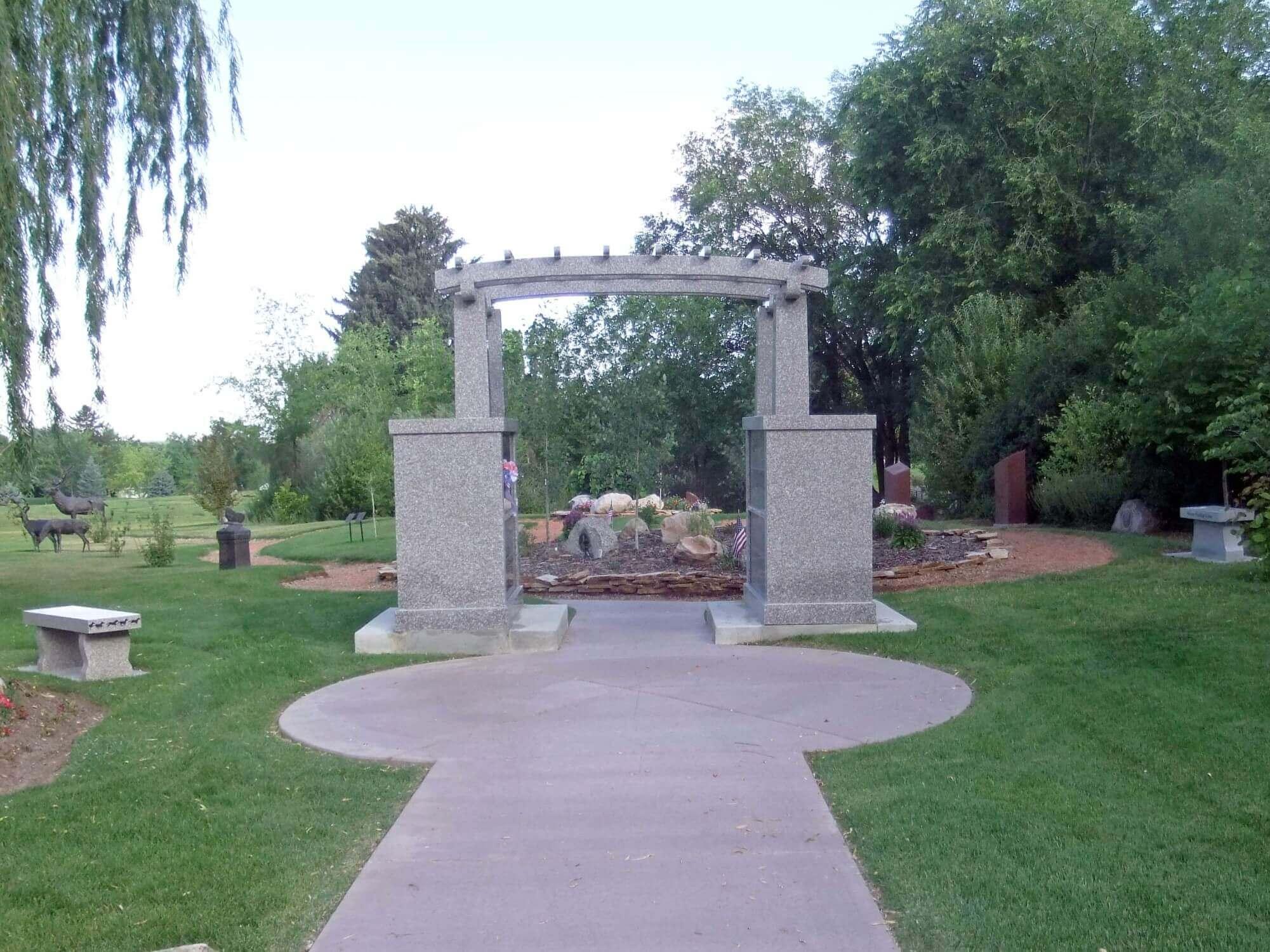 Cremation Garden in Ogden