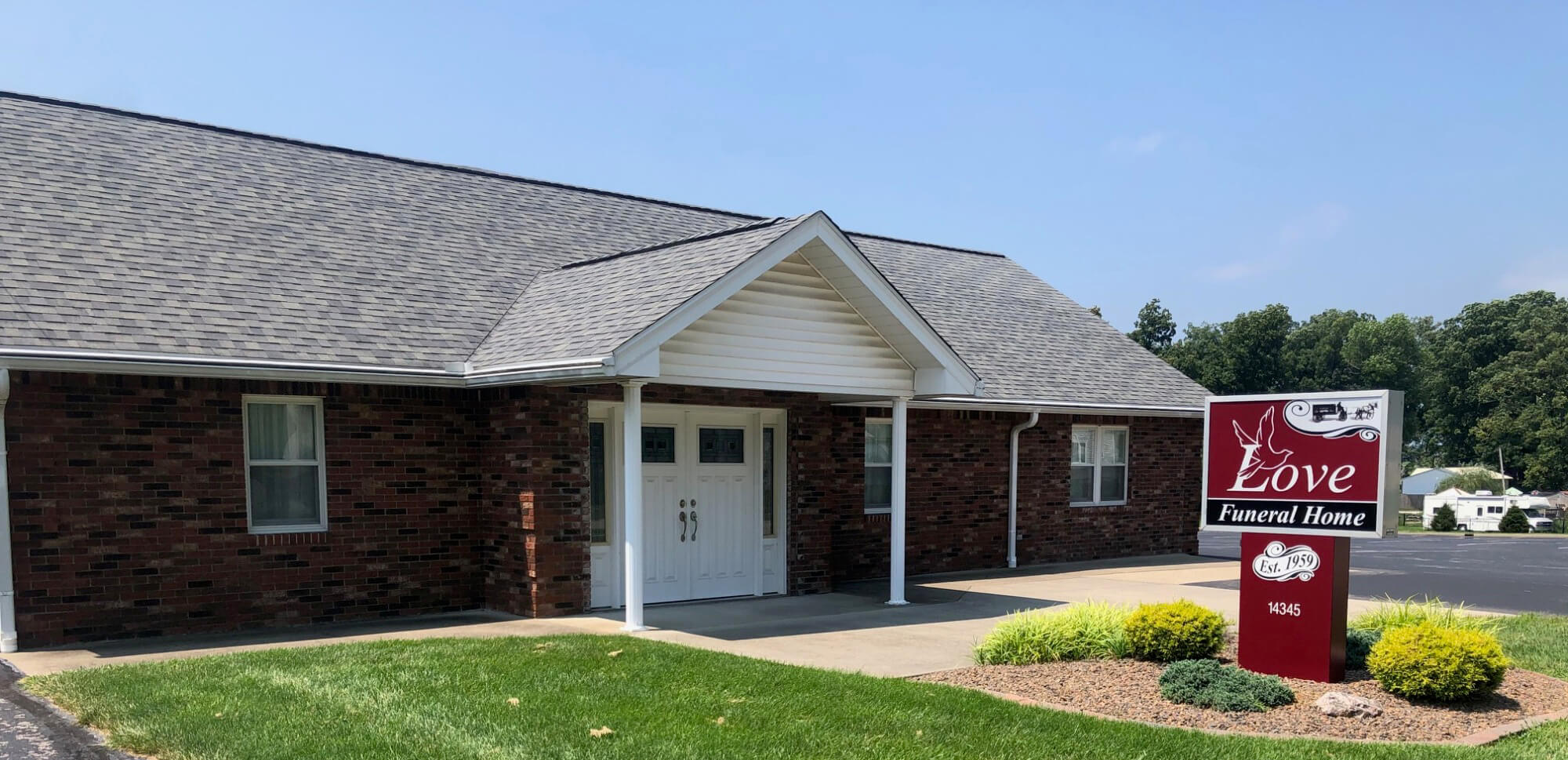 Love Funeral Home in Palmyra, IN