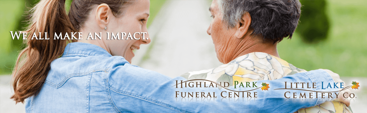 Obituaries at Peterborough's Highland Park Funeral Centre
