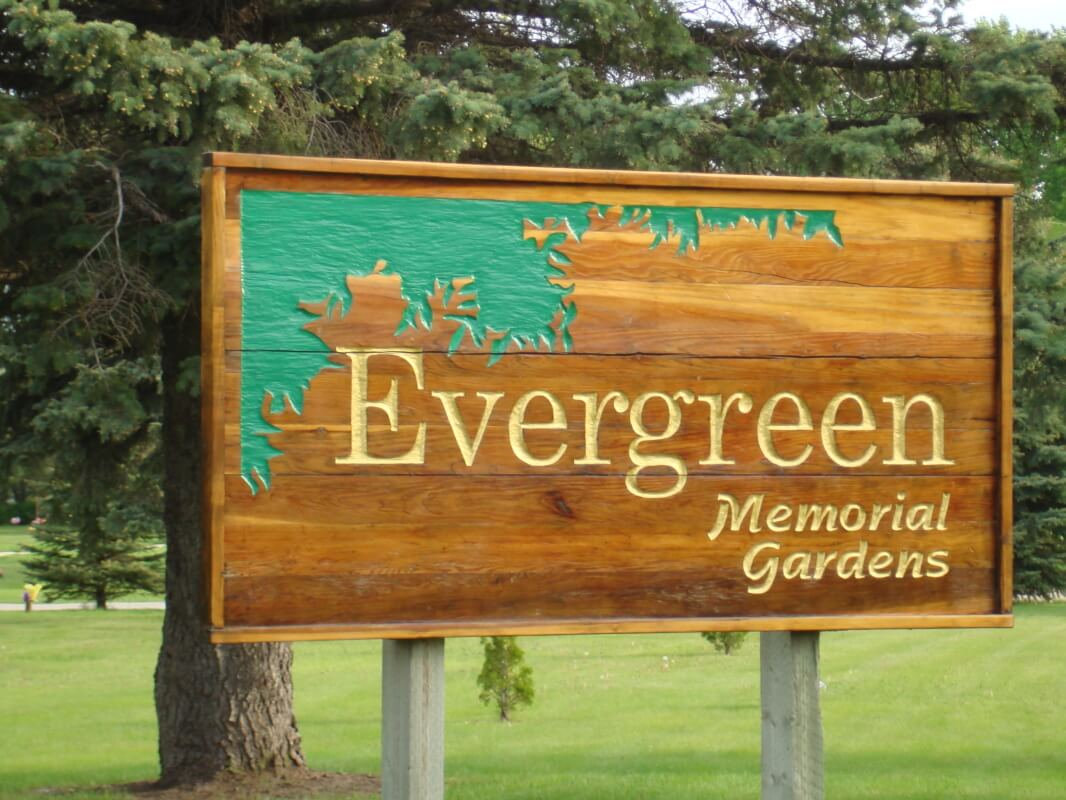 Attractive Evergreen Memorial Gardens Is A Cemetery Located Just North Of Hillside  Cemetery, Southwest Of Portage La Prairie. It Offers A Very Peaceful Garden  Like ...