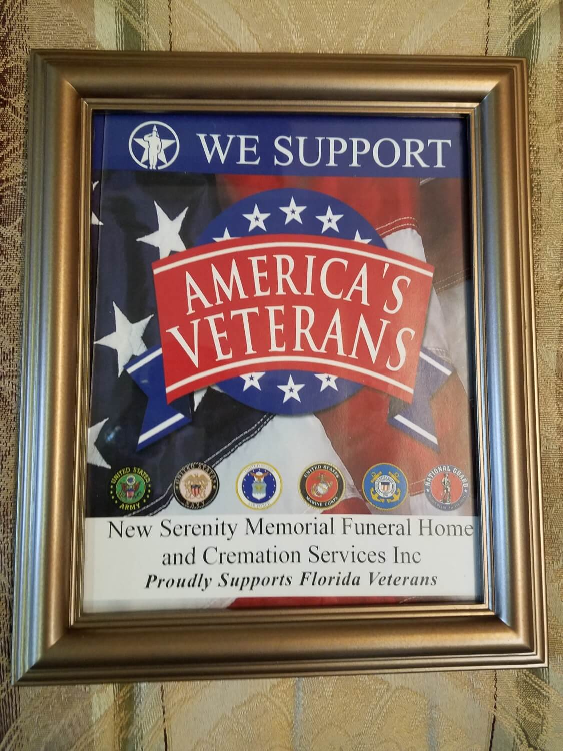 Veterans Overview | New Serenity Memorial Funeral Home inc