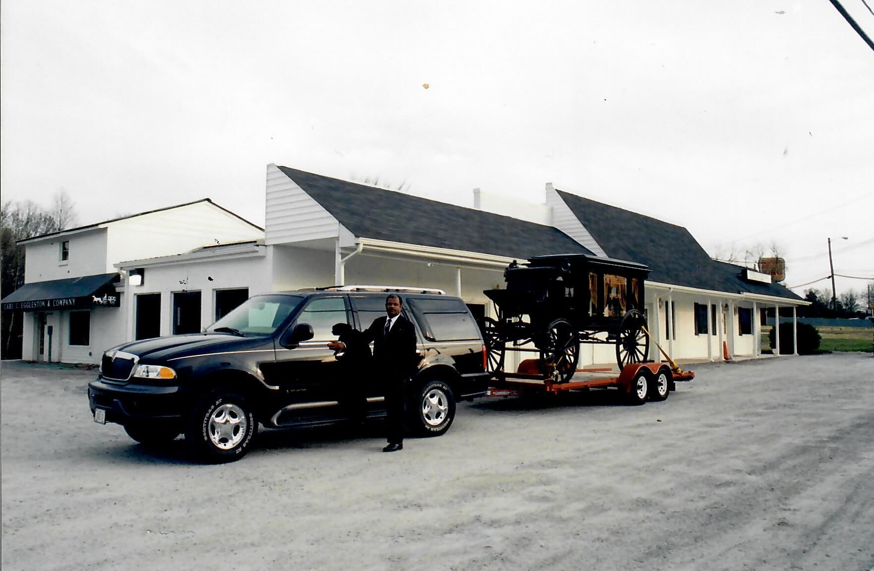 Circa 1996-Carl U Eggleston Funeral Renovation