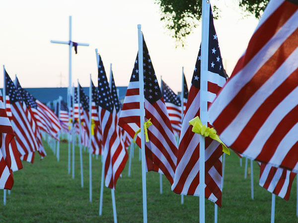 American Flags For Veterans