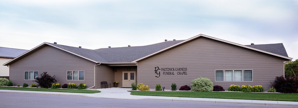 Paetznick Garness Funeral Chapel Groton Sd Funeral Home And Cremation