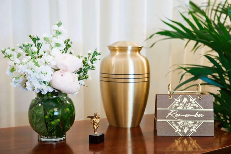 Urn on a Table