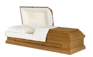 Cremation Casket Example