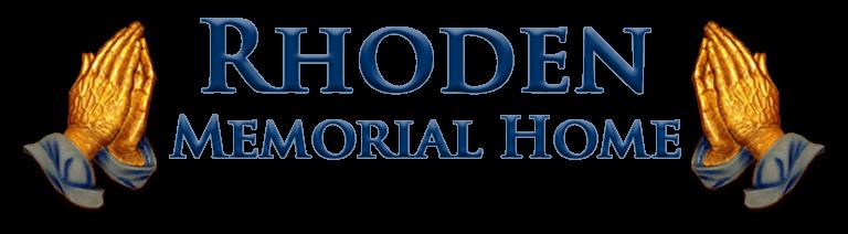 Rhoden Memorial Home