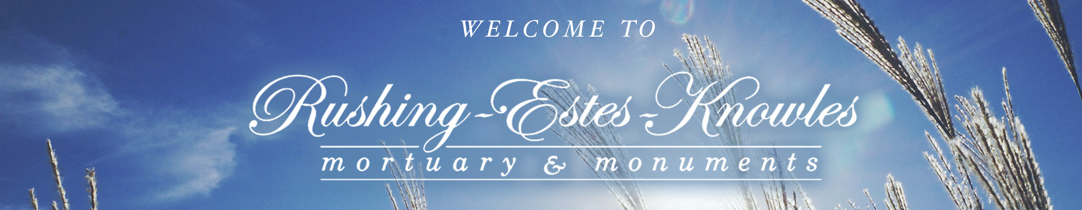 rushing estes knowles mortuary funeral home logo