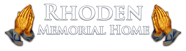 All Obituaries | Rhoden Memorial Home | Canton OH funeral