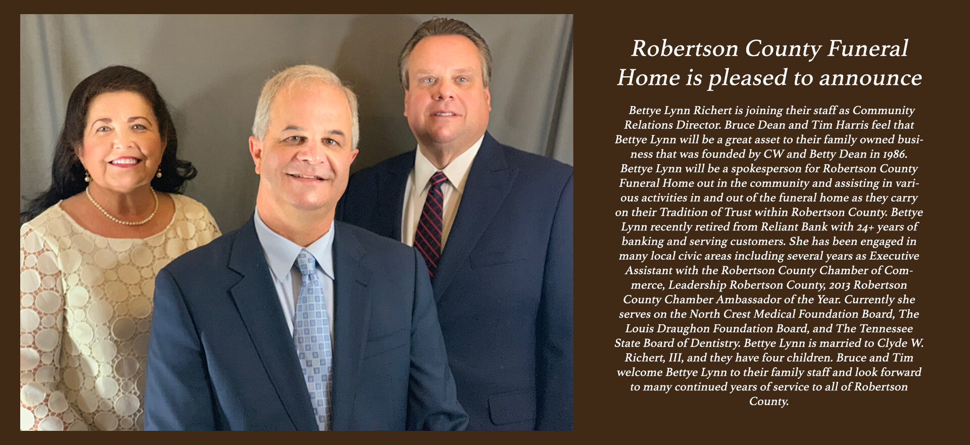 Robertson County Funeral Home | Springfield TN funeral home and