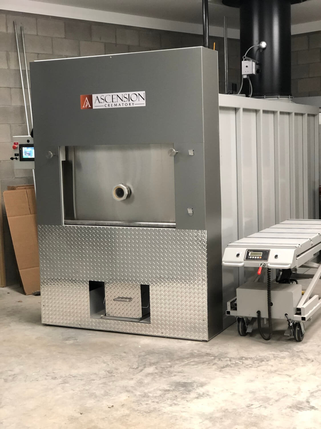 Crematory, Cremation Systems, Armil CFS,