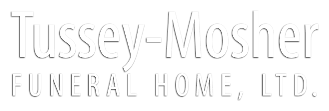 "website heading ""Tussey Mosher Funeral Home"""