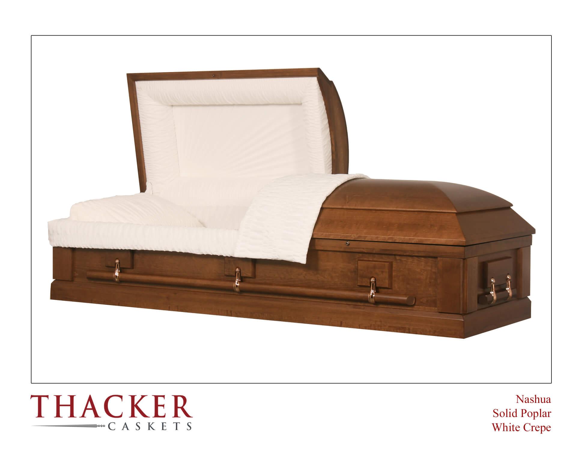 Poplar Wood Casket - $2,095.00