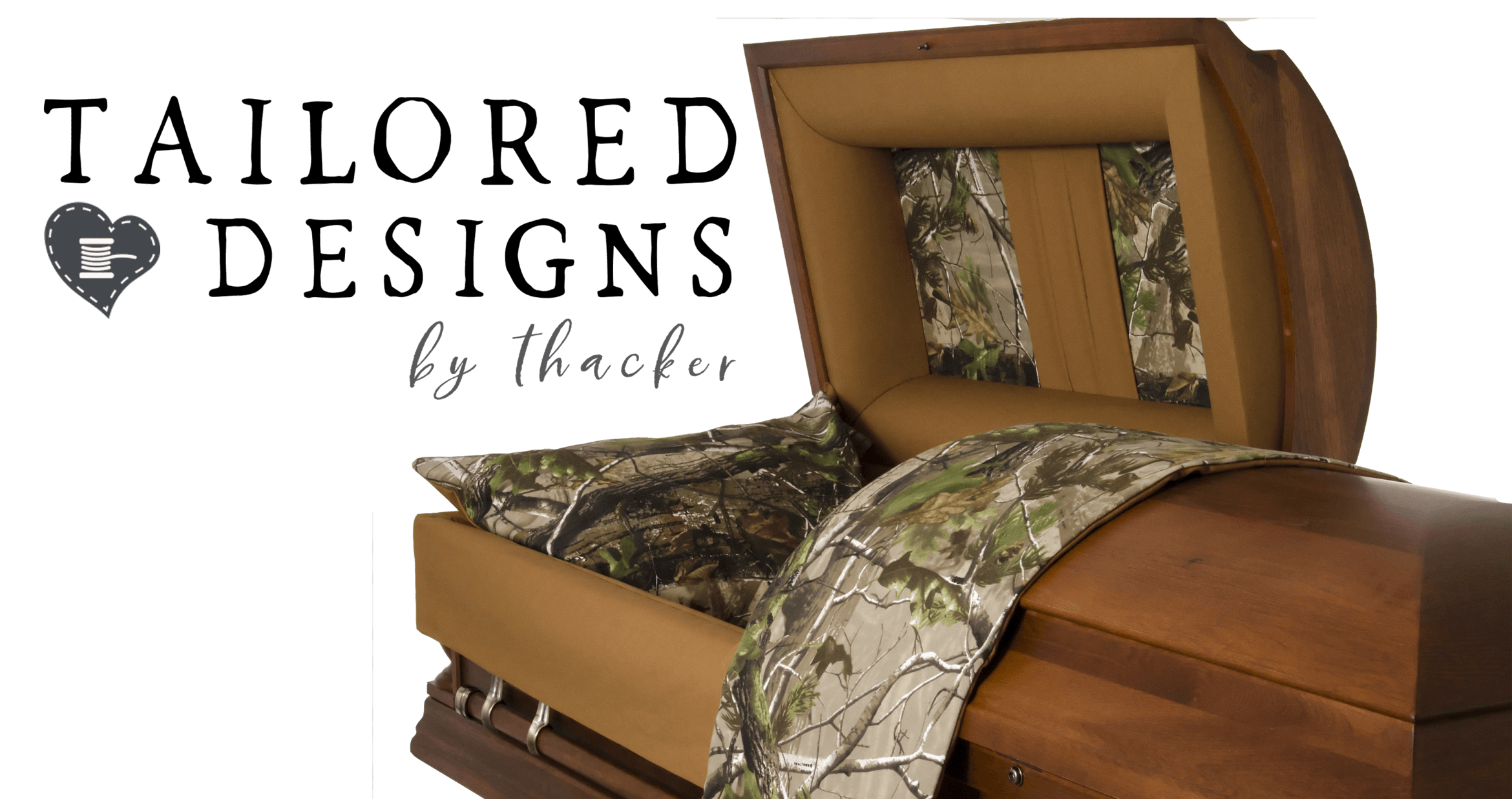 Image of A Tailored Designed Casket By Thacker Caskets - Offered at Vilonia Funeral Home