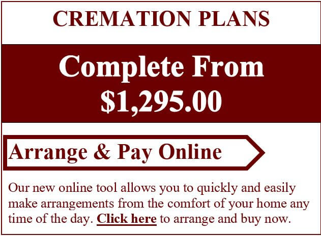 Cremation Plans Complete Starting At $1,295.00