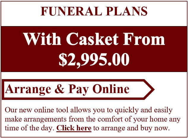 Funeral Plans With Casket From $2,995.00