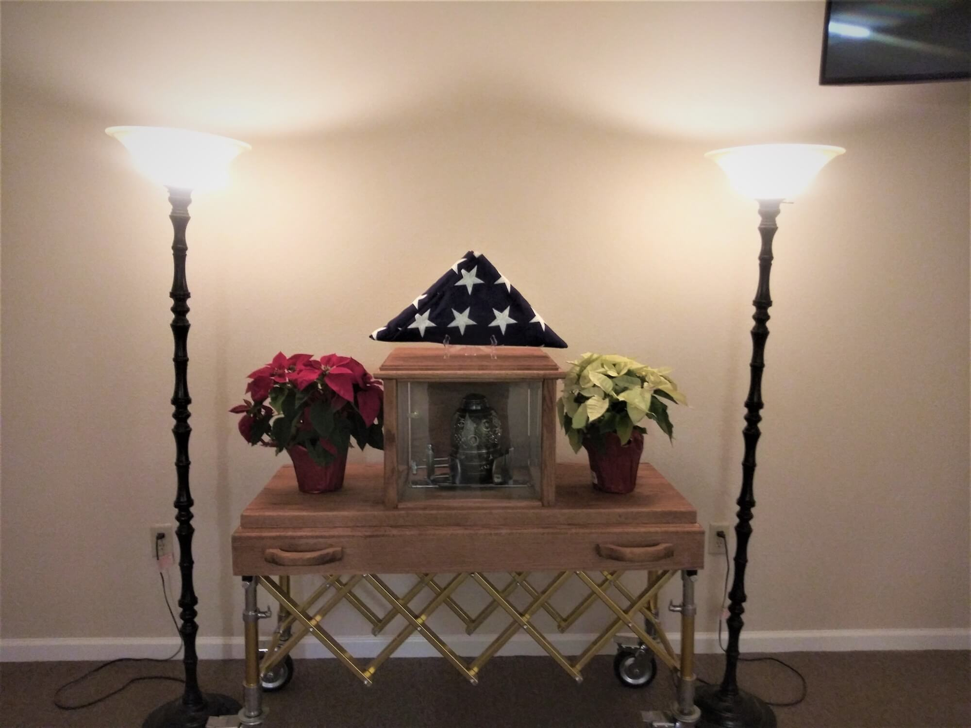 Vilonia Funeral Home Urn Carrier