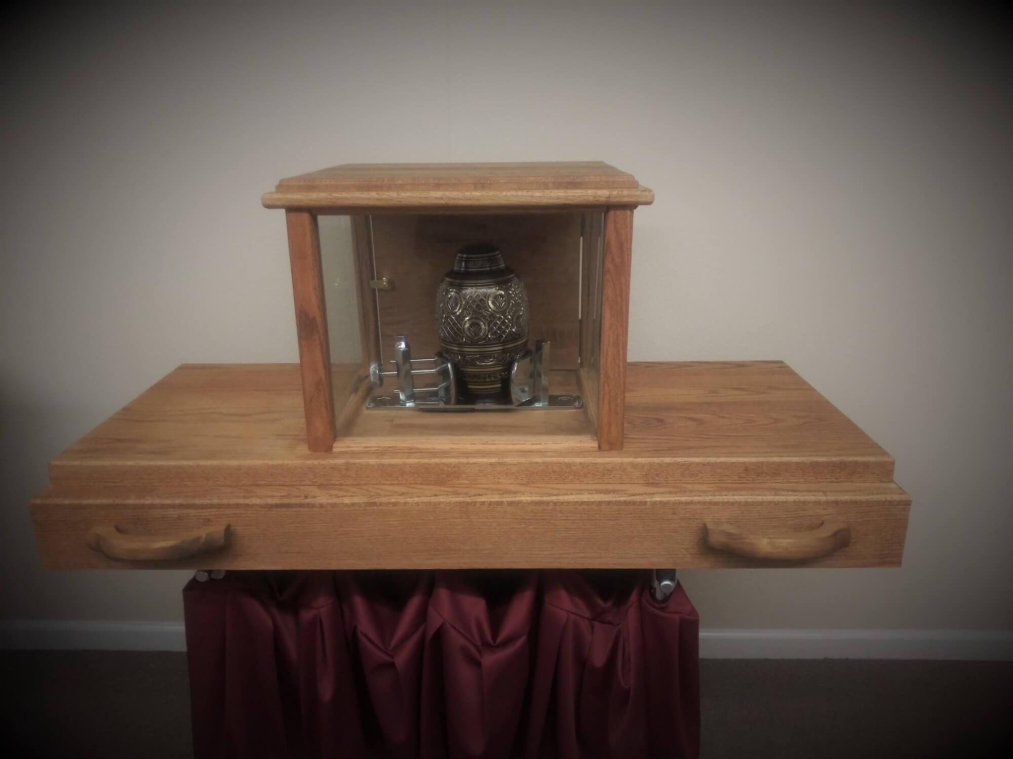 Urn Ark at Vilonia Funeral Home