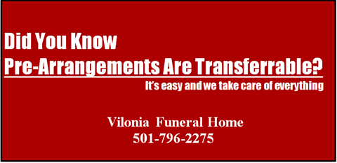 Image explaining that we accept pre-arrangements from other funeral homes