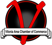 Vilonia Area Chamber of Commerce Proud Member Logo