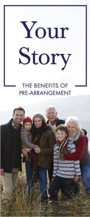 Image depicting the benefits of pre-arrangement