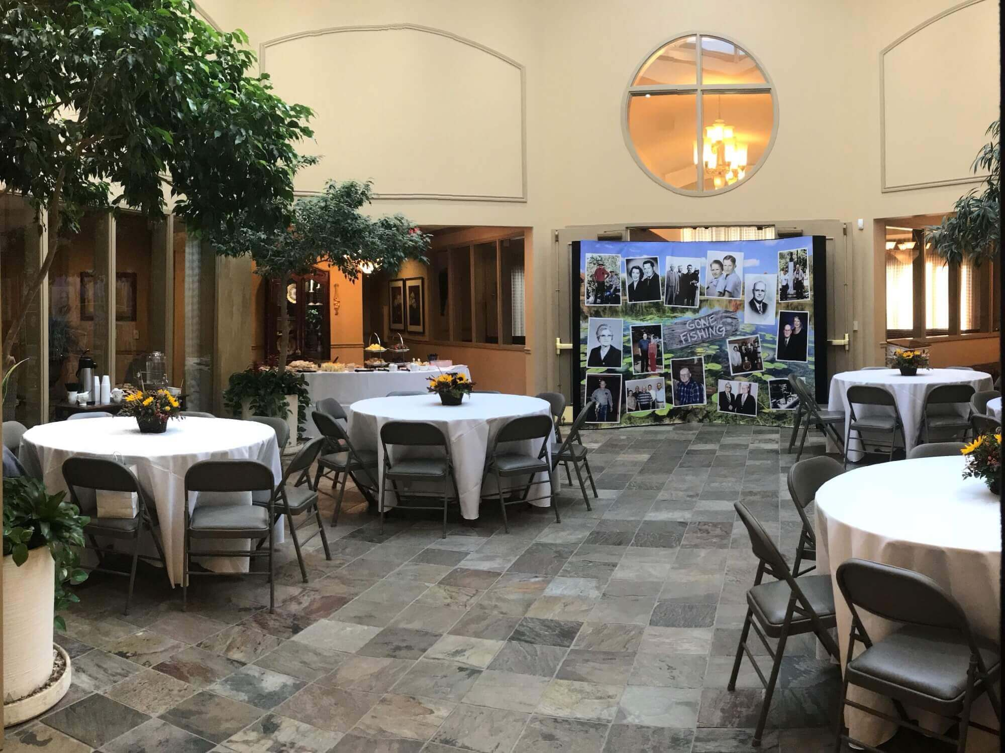 Funeral Home And Cremation Reception