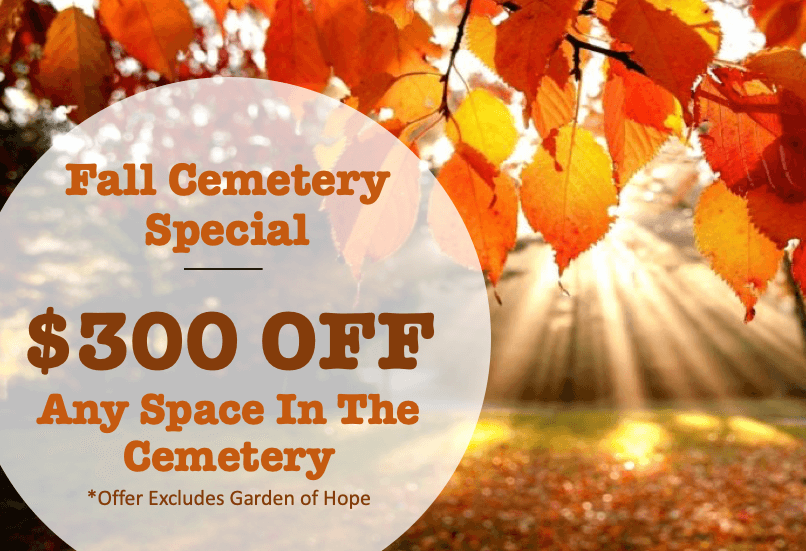 Fall Cemetery Special