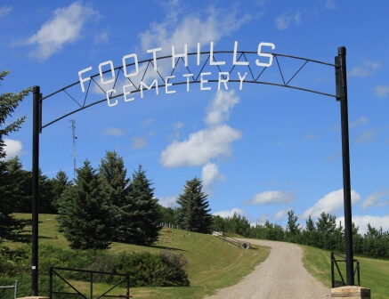 Foothills Cemetery entrance