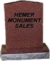 We offer a complete line of monument sales