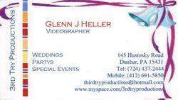 Glenn J Heller 3rd Try Productions