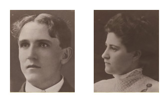 Harold Dillman & Elizabeth Dillman Swain 1923 ~ 1949