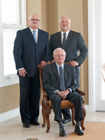 Ron Sr., Fred and Brad Cook