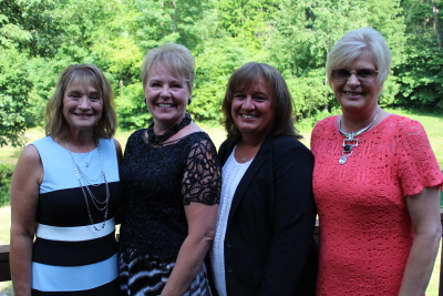 Rosie Metheney, Peggy Morrison, Jill Lewis and Susie Cox