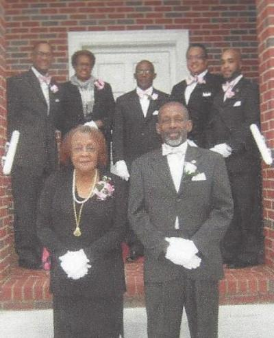 Working a funeral, August 2013 , of Mrs. Earnestine Talley Davis at Easley Union
