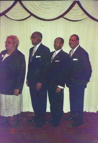 Pearl Anderson, Luther Johnson, Jr., Luther Johnson, III, James Bradley