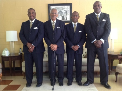 Shawn Copeland, Rev. James O. Rich, Stanley L. Rich, Monavella Scott